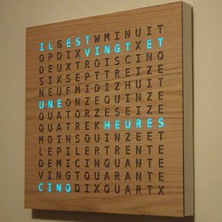 Word Clock 21x21